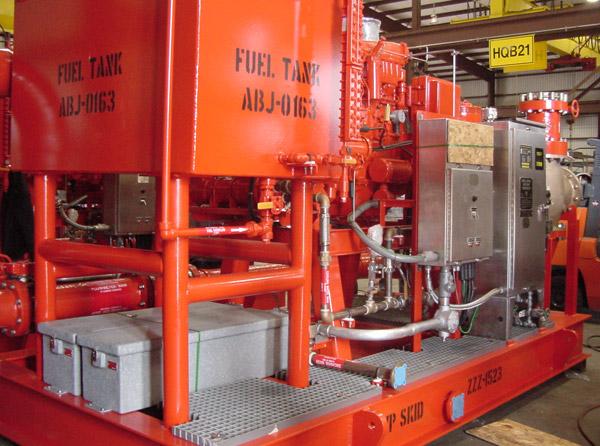 Offshore Fire Protection | Phoenix Pump - Houston, TX