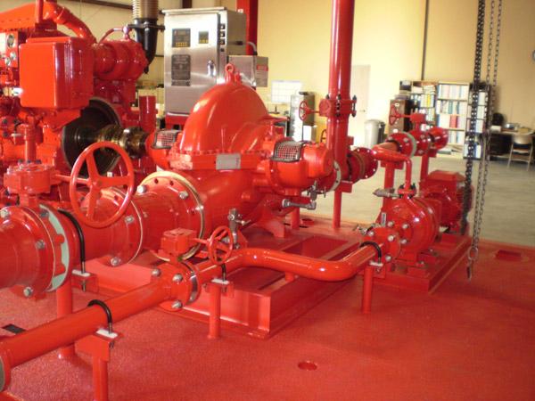 Onshore Fire Protection | Phoenix Pump - Houston, TX