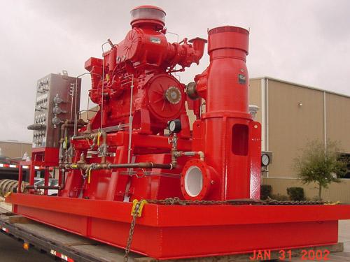 Offshore Fire Protection   Phoenix Pump - Houston, TX
